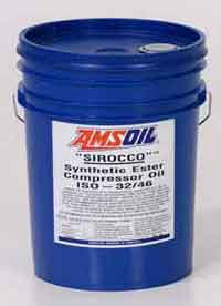 AMSOIL Sirocco Synthetic Compressor Oil