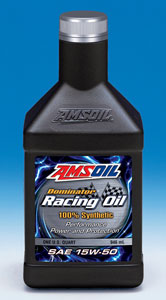 AMSOIL Dominator 15W-50 Racing Motor Oil