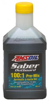 AMSOIL Saber Outboard 2-Cycle Oil