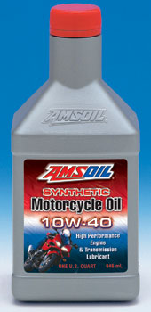 AMSOIL 10W-40 Advanced Formula Motorcycle Engine Oil