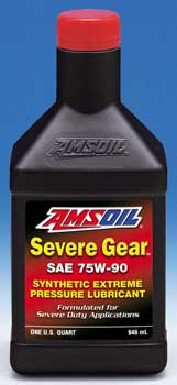 AMSOIL Severe Gear Synthetic Gear Lube