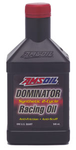 AMSOIL Dominator Racing 2-Stroke Oil